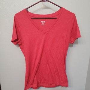 Red Mossimo junior large shirt